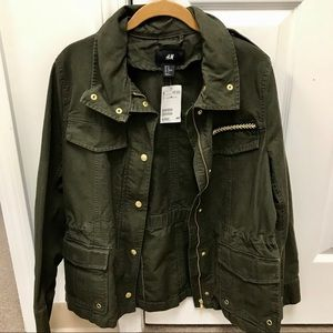 Brand New H&M Military Jacket Size 10